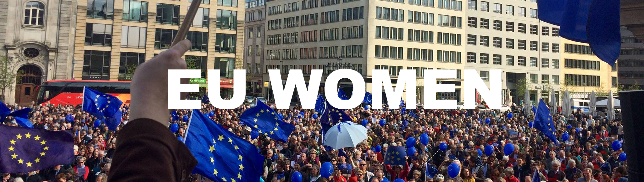 EU Woman Banner