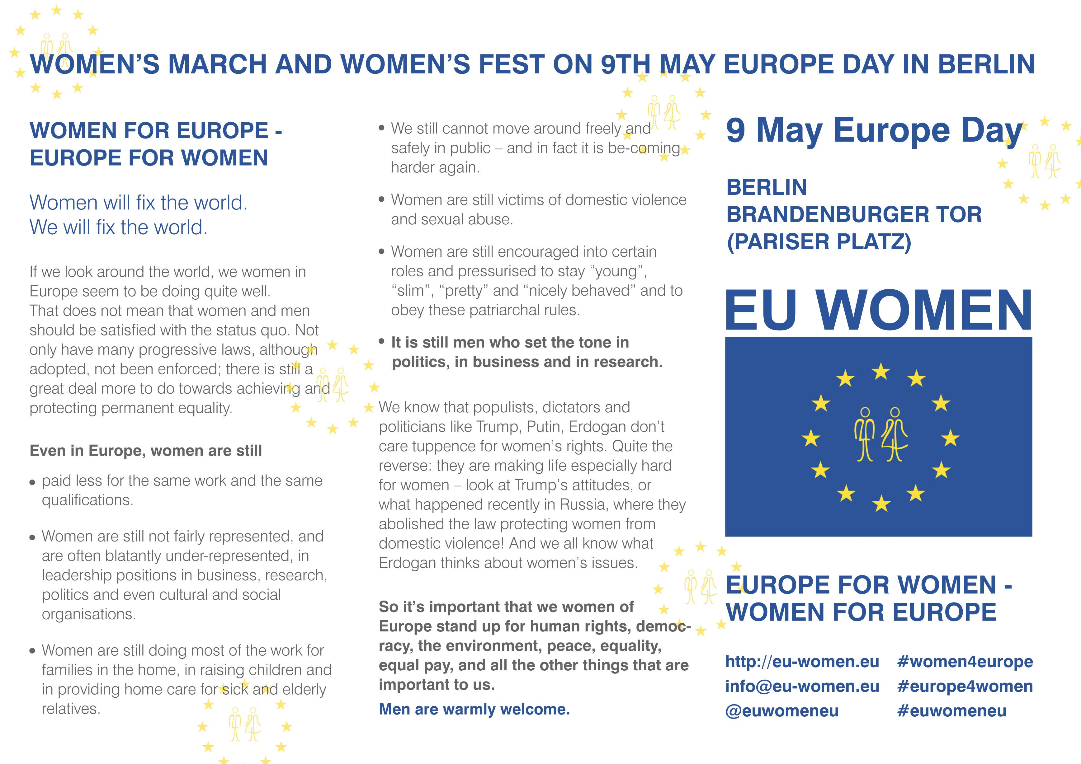 Presentation © EU Women
